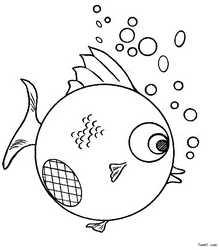 简笔画:鱼的画法
